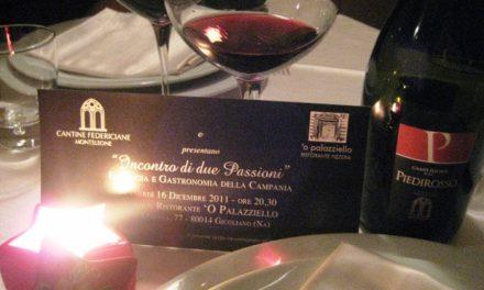"""Con Cantine Federiciane Monteleone al Ristorante """"O' Palazziello"""""""