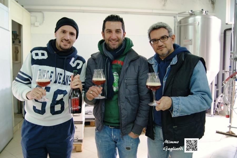 Visita al birrificio artigianale MANEBA di Striano (NA)