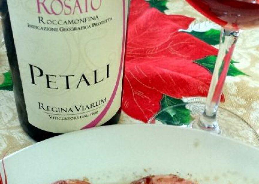 Petali 2012 Rosato Primitivo Roccamonfina igt Regina Viarum