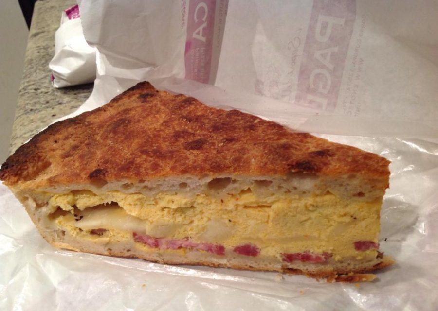 """la pizza """"chiena"""" pasquale alla maniera di Stefano Pagliuca"""