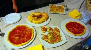 la pizza di farinella e altre pietanze contadine