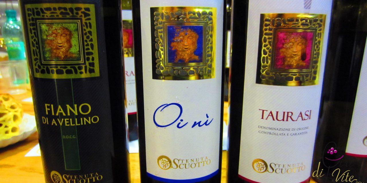 I vini di Tenuta Scuotto all'Enopanetteria di Stefano Pagliuca.